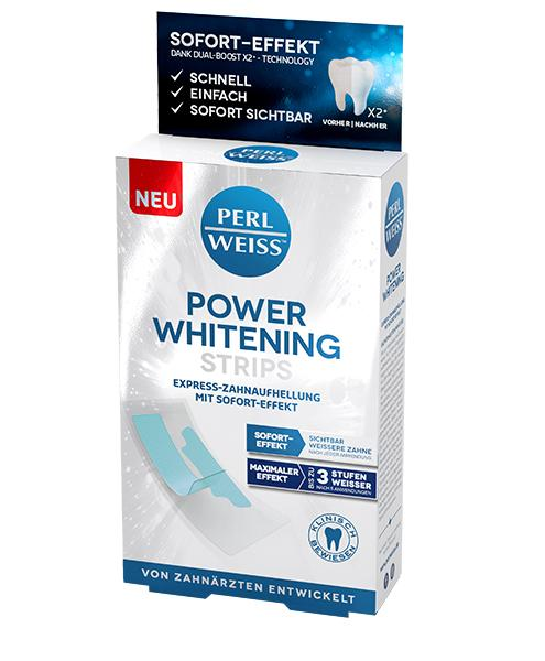 POWER <br/>WHITENING STRIPS